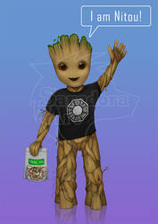 Groot for Nitou by SaradoraArt