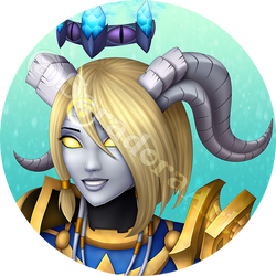 Commission - Deathope by SaradoraArt