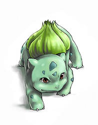 FanArt: Bulbasaur by white-angel-ariah