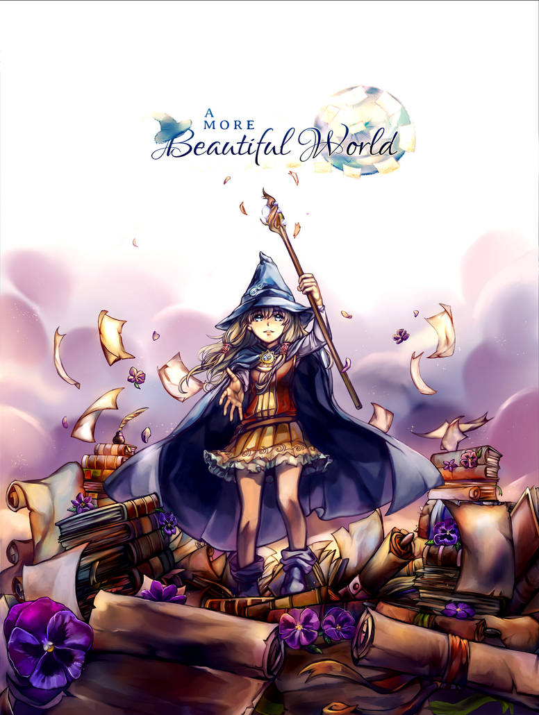 ~A MORE BEAUTIFUL WORLD VN~ Boxart Illustration