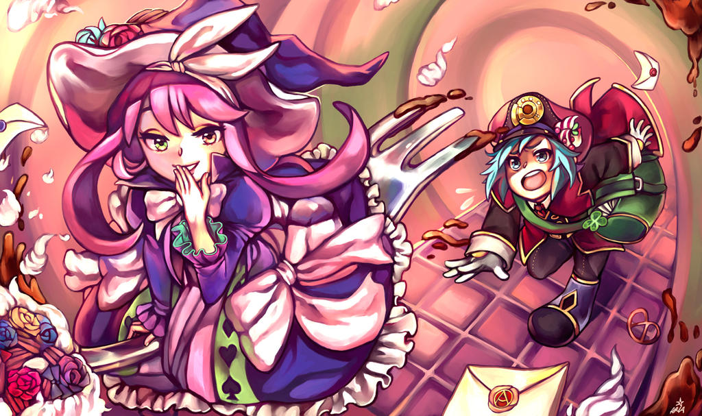 Commission: Yu-Gi-Oh! ~Sweet Mischief~