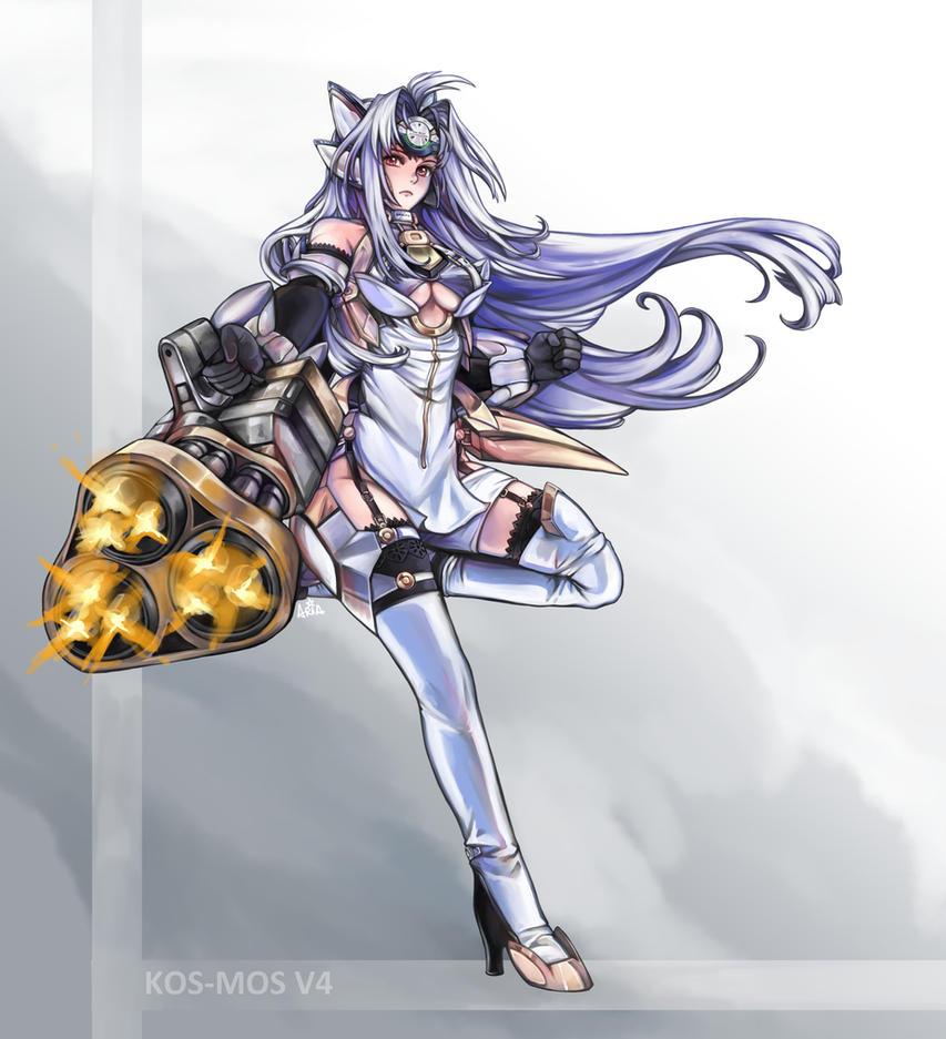 [Commission] KOS-MOS v4 by white-angel-ariah