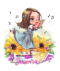 Chibi ~Summer~ by white-angel-ariah