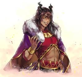 Halfbody Commission: IseKai ~Lord Ise~