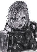 Shepard by YunaAnn