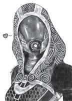 Tali'Zorah | Mass Effect by YunaAnn