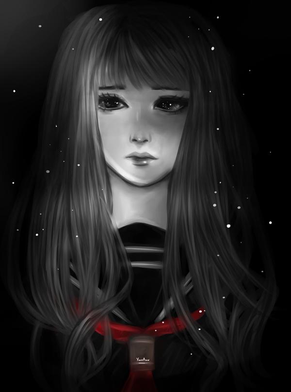 In shadows by YunaAnn