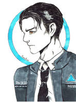 Connor   Detroit Become Human by YunaAnn