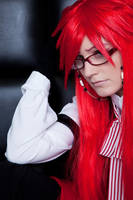 His butler - Red by Hime-sOph