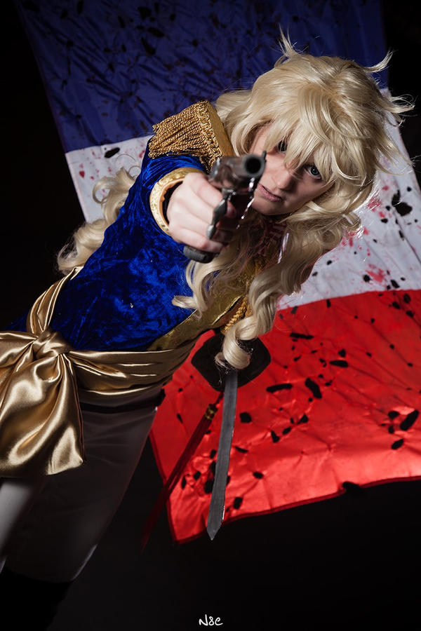 Versailles no bara - Lady Oscar 'Aux armes!' by Hime-sOph