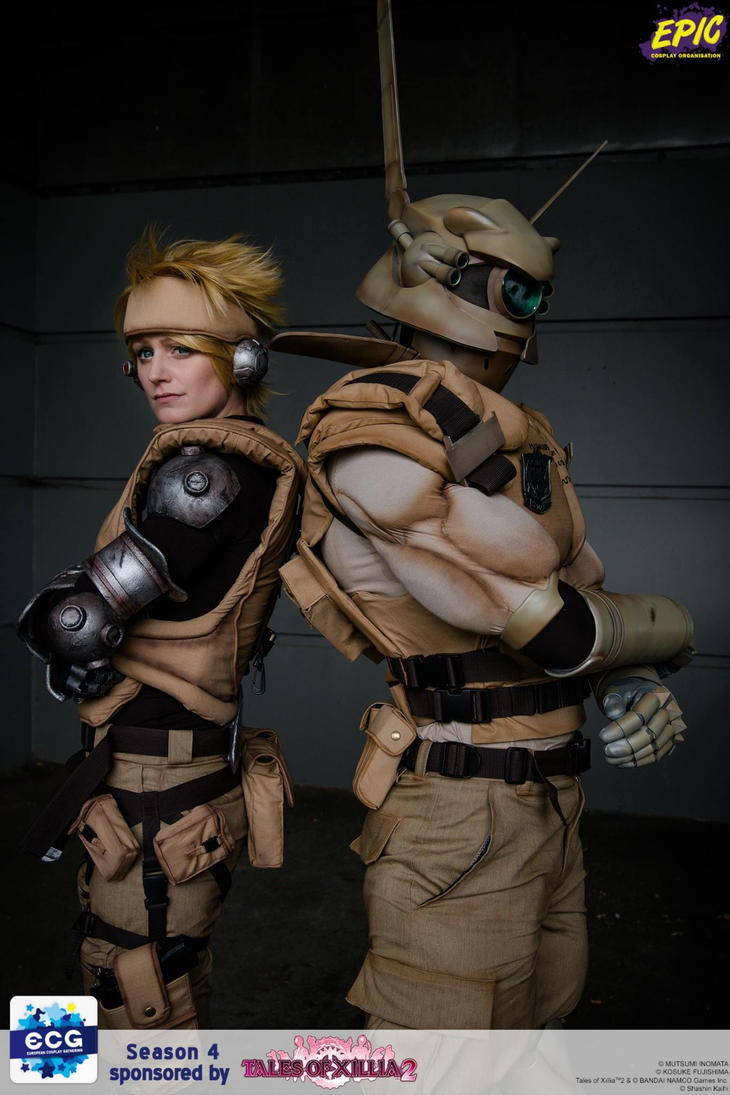 Appleseed Deunan and Briareos II (ECG finale) by Hime-sOph
