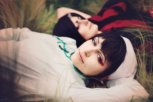 Hoozuki no reitetsu: Hakutaku and Hoozuki