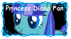 Princess Diana Fan stamp(Commision) by MintyMagic74