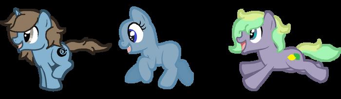 Pony Play date~ by MintyMagic74