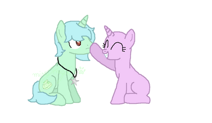 ??? booped Mint Frosting by MintyMagic74