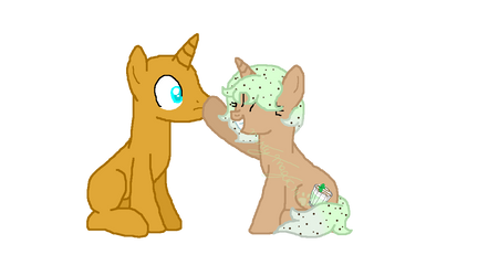 Mint Chip booped ??? by MintyMagic74
