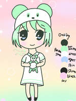 My mint panda child!