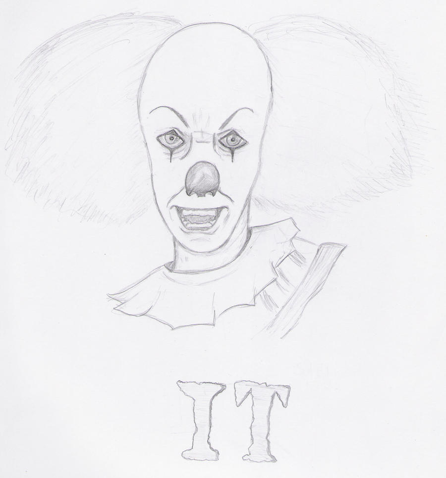 Scary Clown Drawing at GetDrawingscom  Free for personal