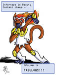Infernape is fabulous