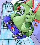 FLYGON used EXTREME ATTACK