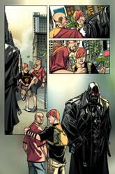 X-men 1 page 1 Colors by ElVlasco