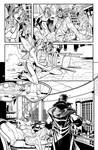 X-men 1 page 5  Inks