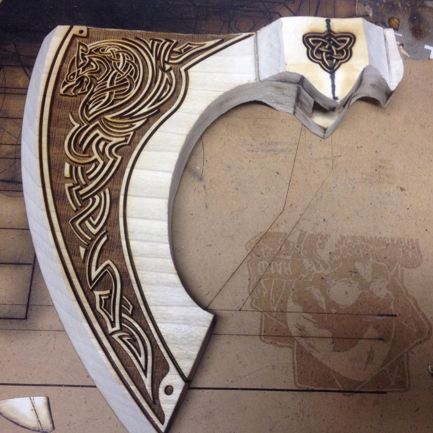 Image result for engraved axe