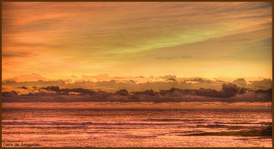 Late autumn sunset I by Arte-de-Junqueiro