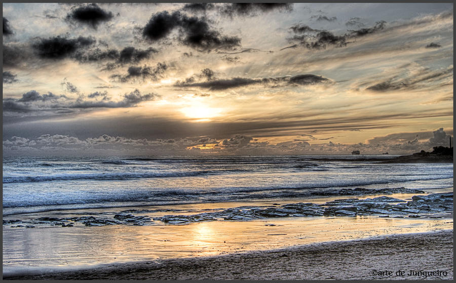 Early Winter Sunset II by Arte-de-Junqueiro