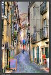 A Lisbon Street I by Arte-de-Junqueiro