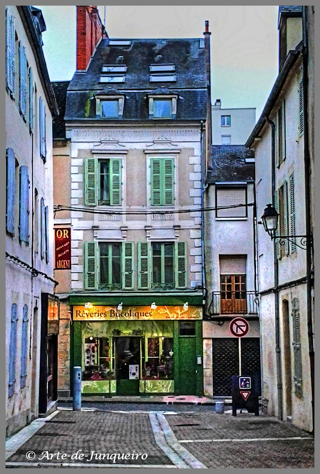 Nevers Street II by Arte-de-Junqueiro