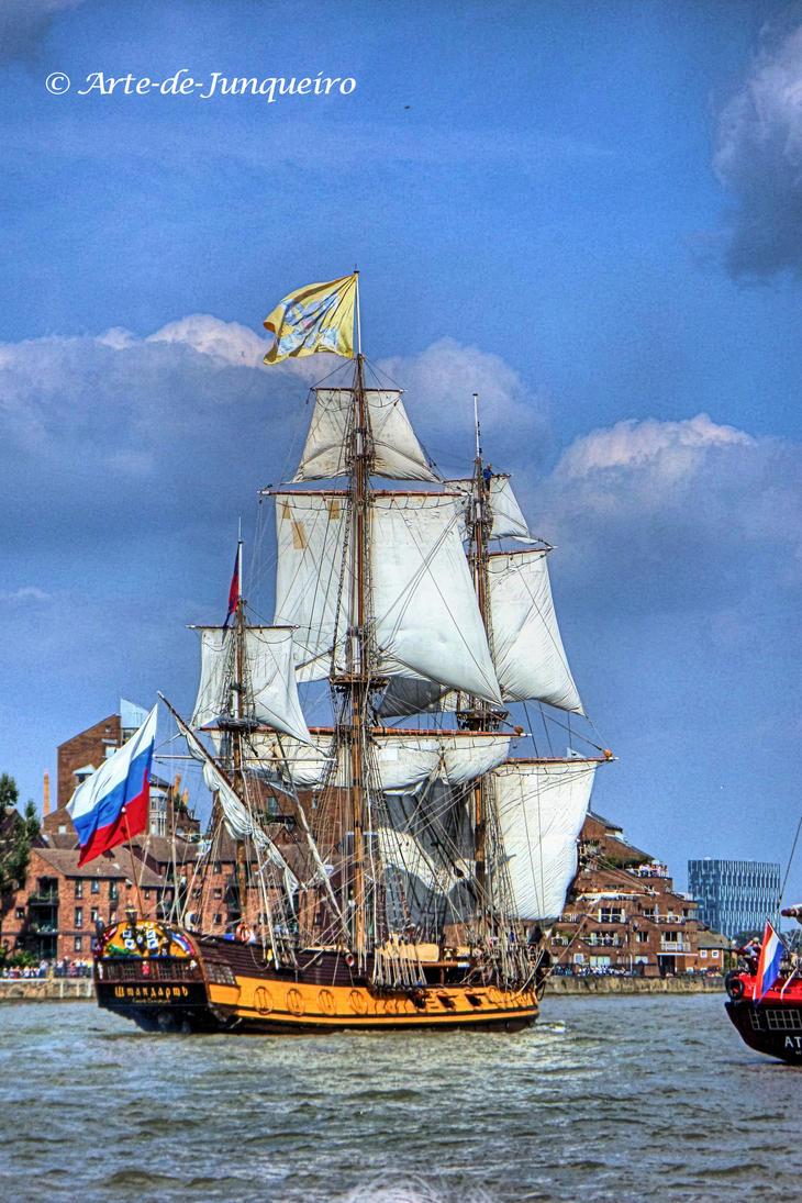 Sailing I by Arte-de-Junqueiro