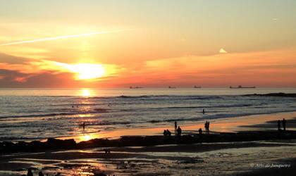 First Sunset by Arte-de-Junqueiro