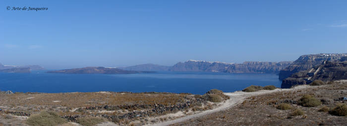 Santorini at peace