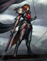 Siren Knight by Lagunis