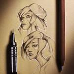 Borderlands Sketches
