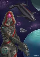 Quarian Mass Effect Andromeda by JerHopp