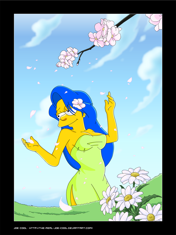 Fan art devoted to marge 39 s hair - Les simpson nue ...