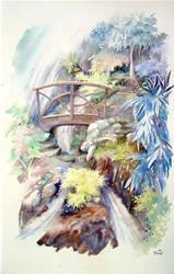 cascade de Maraa by Papercolour