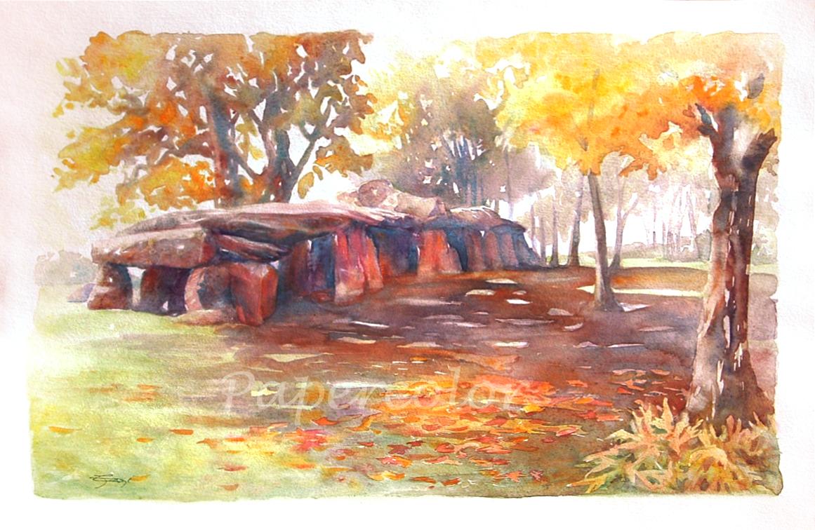 LA ROCHE AUX FEES by Papercolour