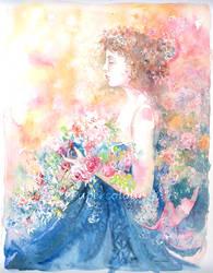 Le temps d'une rose by Papercolour
