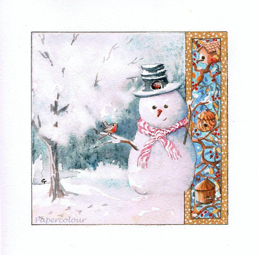 Bonhomme de neige by Papercolour