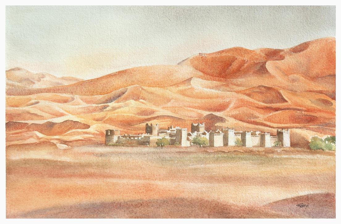 Desert by Papercolour