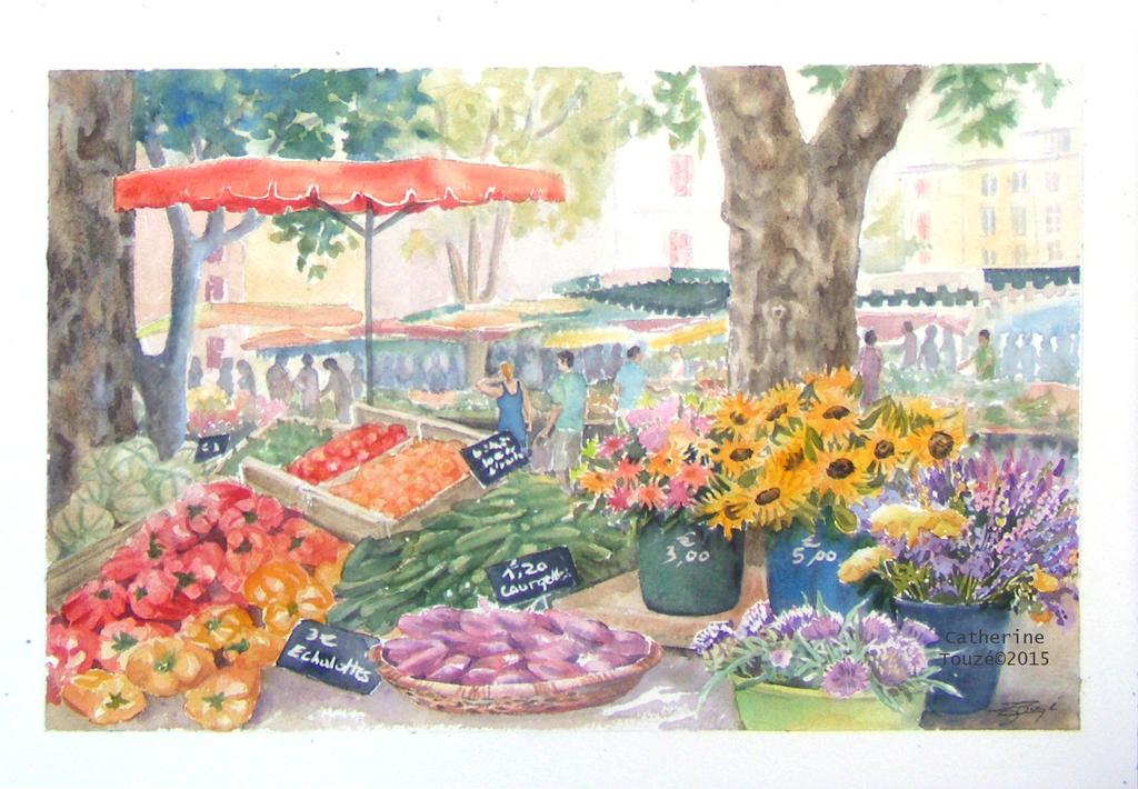 Marche de Provence by Papercolour