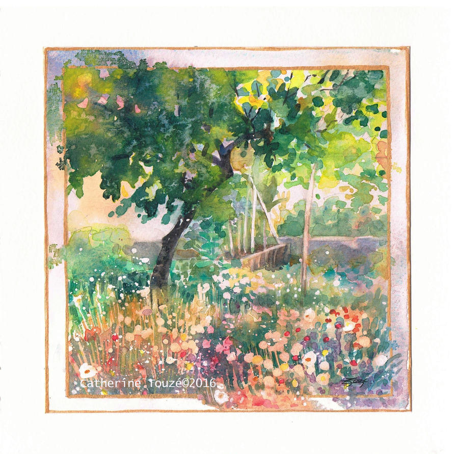 Le jardin du bonheur by papercolour on deviantart for Art du jardin zbinden sa