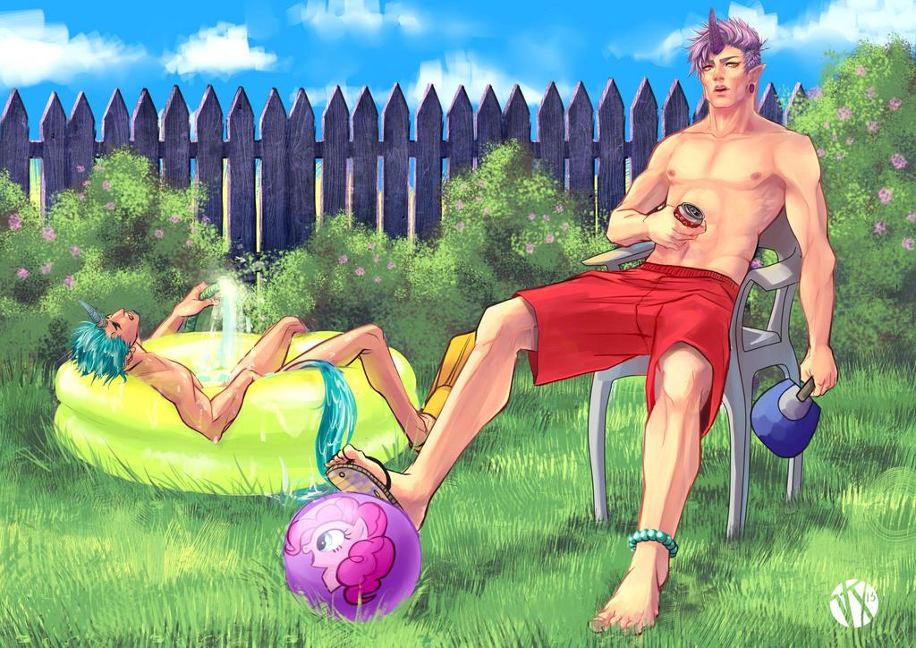 Hot summer by ViciousJay
