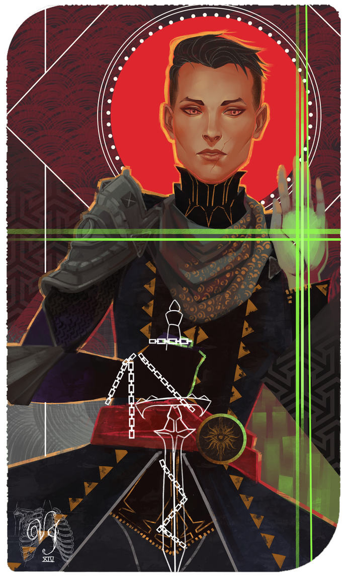 Inquisitor Tarot Card by ViciousJay