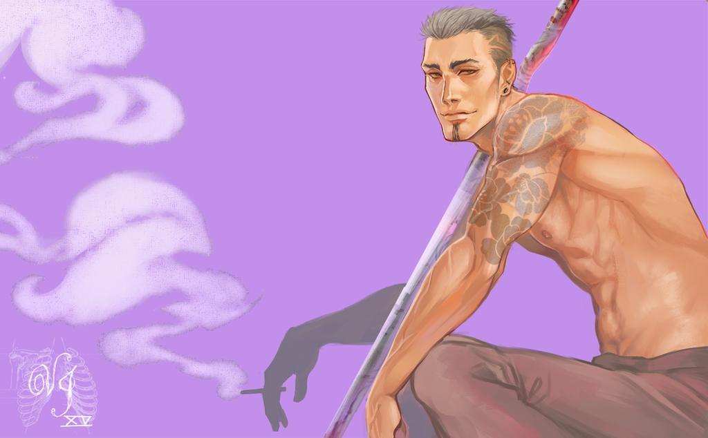 Lavender thug by ViciousJay