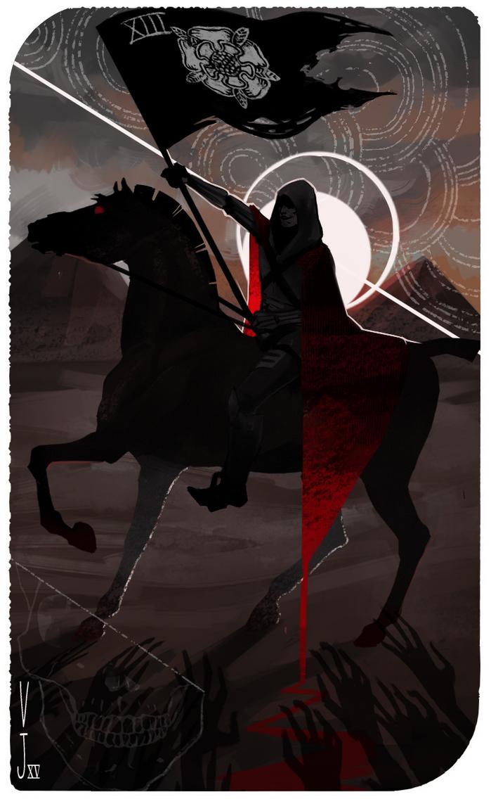 The DEATH Tarot by ViciousJay