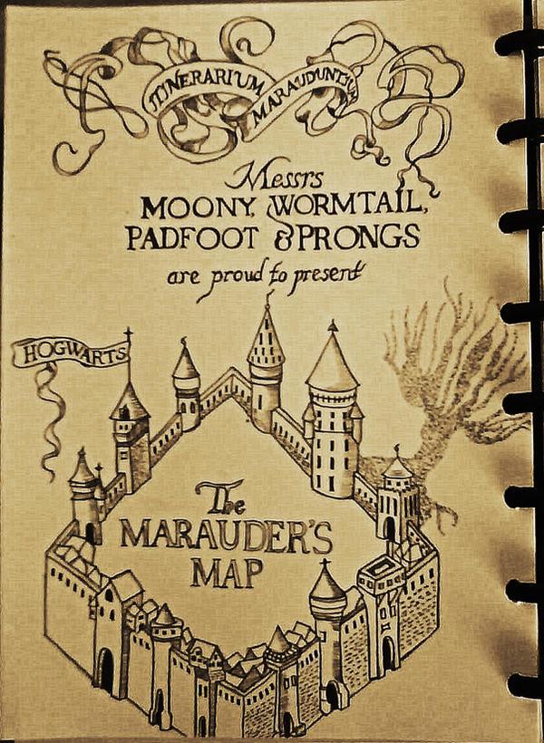 Images Of Marauders Map Phone Wallpaper Calto